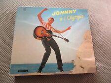 "RARE! COFFRET 2 CD DIGIPACK ""JOHNNY HALLYDAY A L'OLYMPIA"" 34 titres"