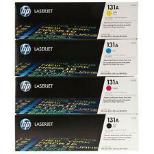 Genuine HP 131A  BK/C/M/Y Toner Cartridge Combo Set