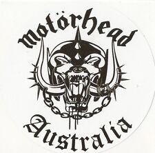 "Sticker "" MOTORHEAD AUSTRALIA """