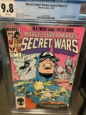 Marvel Super Heroes Secret Wars #7 CGC 9.8 1st app new Spider-Woman