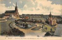 ROUEN - Ensemble de Bon-Secours et du Monument de Jeanne d'Arc