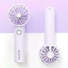 BLUEFEEL Mini Handheld Portable Fan USB Desk Fan Rechargeable 24 Hrs use Korean