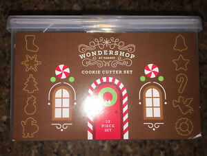 Threshold Wondershop 10 Pc Metal Christmas Cookie Cutter Set