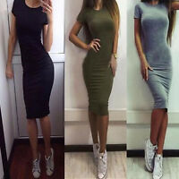 Women's Fashion Sexy Short Dresses Party Evening Cocktail Mini Casual Dress New
