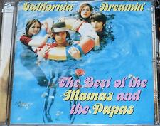 THE MAMAS AND THE PAPAS / CALIFORNIA DREAMIN' / THE BEST OF 2 CD SET 40 TRACKS