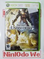Infinite Undiscovery (Microsoft Xbox 360, 2008) - NO MANUAL - FAST POST