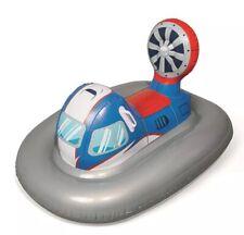 BESTWAY KIDS INFLATABLE RIDE ON SWIM FLOAT - GALACTIC BATTLESHIP - HANDLES - NEW