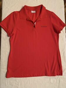Porsche Driver's Selection Women's Red Polo Shirt size M