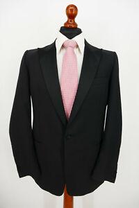 Wilvorst Smoking Anzug Gr.50 100% Schurwolle Black Label Top Zustand