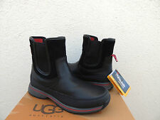 UGG NIGELL BLACK WATER-PROOF LEATHER THINSULATE SNOW BOOTS, US 9.5/ EUR 42.5 NWT