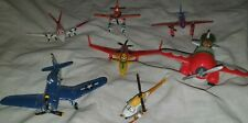 DISNEY PIXAR BUNDLE DIECAST PLANES SET CARS COLLECTION PLASTIC TOYS MIXED LOT x6