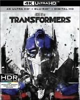 Transformers [New 4K UHD Blu-ray] With Blu-Ray, 4K Mastering, Ac-3/Dol
