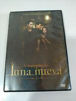 Luna Nuovo Saga Drepusculo Twilight New Moon DVD+ Extra Spagnolo Inglese