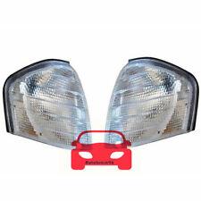 A Pair Turn Corner Light White For Mercedes W202 C180 C220 C200 C250 C230 94-00
