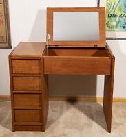 Mid Century Modern Danish Teak Vanity