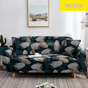 1/2/3/4 Seaters Sofa Covers Dustproof Protector Slipcover Living Room Decoration