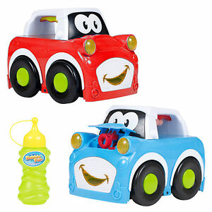 Kids Car Bubble Machine Maker Blower Childrens Fun Garden Birthday Party Bubbles