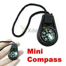 Mini Portable Compass Brunton Camping Hiking Hunting Outdoor Sport Keychain Ring