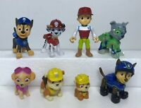 Lot of 8 Paw Patrol Figures Spin Master Limited