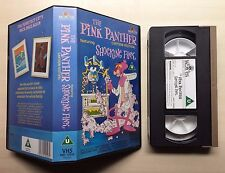 THE PINK PANTHER CARTOON FESTIVAL - FEATURING SHOCKING PINK - VHS VIDEO