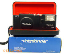 RARE VOIGTLANDER VITO C  35MM FILM CAMERA & VCS 18 FLASH *MINT CONDITION*