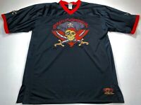 Captain Jack Sparrow Disney Pirates Of The Caribbean Jersey Men's Large