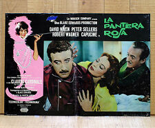 LA PANTERA ROSA fotobusta poster The Pink Panther Edwards Sellers Cardinale BE4