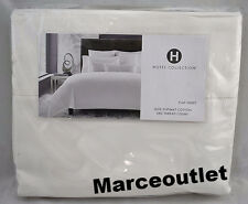 Hotel Collection 680 Thread Count Supima Cotton Twin Flat Sheet White