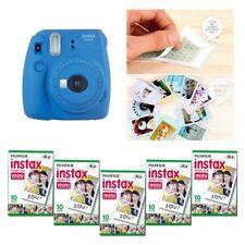 Fujifilm Instax Mini 9 cámara azul cobalto 5 Packs Fuji Film 50 Foto 8