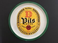 Vintage HOLSTEN PILS LAGER Beer Tray - RETRO/MAN CAVE/HOME BAR/ADVERTISING 12.5""