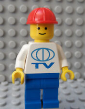 LEGO Classic City Direct TV Cable Dish Installer Repair Man