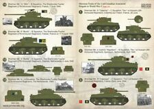 Print Scale 1/35 Sherman Tanks of the 2nd Canadian Armoured Brigade # 35004