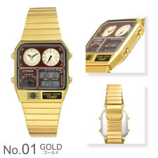 Citizen Wristwatch ANA-DIGI TEMP Gold JG2103-72X Limited Model New Japan