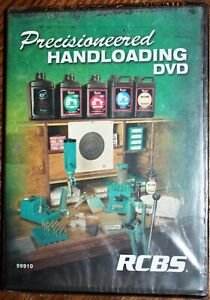 RCBS PRECISIONEERED HANDLOADING Instructional DVD. J Scoutten NEW. Sealed. 99910