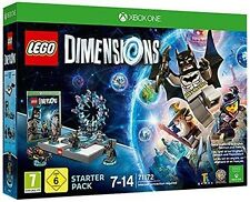 NUOVO-DIMENSIONI LEGO Starter Pack XBOX ONE Inc GAME-minifigures & BATMOBILE