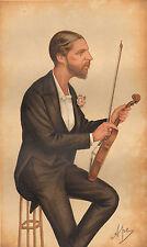 1874 Original Vanity Fair Estampado ~ First Violín Hrh Duque De Edimburgo