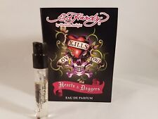 Ed Hardy by Christian Audigier Hearts & Daggers ladies EDP sample spray x 1