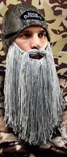 Duck Dynasty Phil Camo Beard Mustache Beanie Cap doubles Potter LOTR Wizard