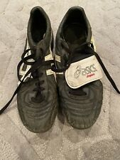 Mens Black Retro Asics Rugby Boots