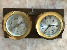 Vintage Seth Thomas Ships Clock(striking) With Barometer