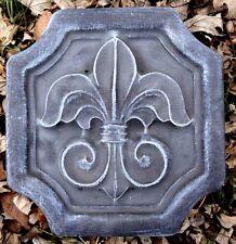 Fleur de lis mold plaster concrete reusable casting mould