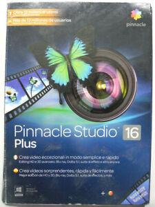 Software Of Video Editing Pinnacle Studio 16 Plus Italian Espanol Portuguese