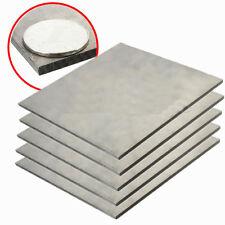"""TC4 GR5 Titanium Metal Plate 2mm x200mm x200mm// 0.079""""X7.87/""""X7.87/"""" Titan Sheet"""