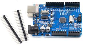 Uno R3, Rev3, 328, ATmega328P, CH340G Arduino Compatible Board with Pins & cable