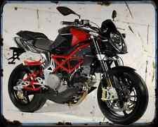 Bimota Db6 09 4 A4 Metal Sign Motorbike Vintage Aged