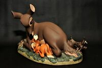 WDCC Walt Disney Classics Collection My Little Bambi and Mother Box Pin COA Rare
