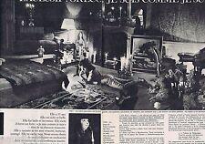 COUPURE DE PRESSE CLIPPING 1962 JULIETTE GRECO  (4 pages)