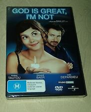 God Is Great I'm Not New & Sealed Rare Reg 4 French DVD Audrey Tautou