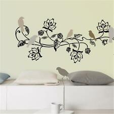 BIRDS ON THE TREE BRANCH Wall Art Wall Sticker Decal Bird Tree Branch Wall Decor