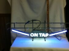 Leinenkugels beer sign neon NOS damaged lighted bar light vintage leinenkugel